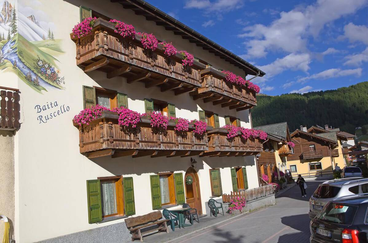 Apartments with balcony in Livigno