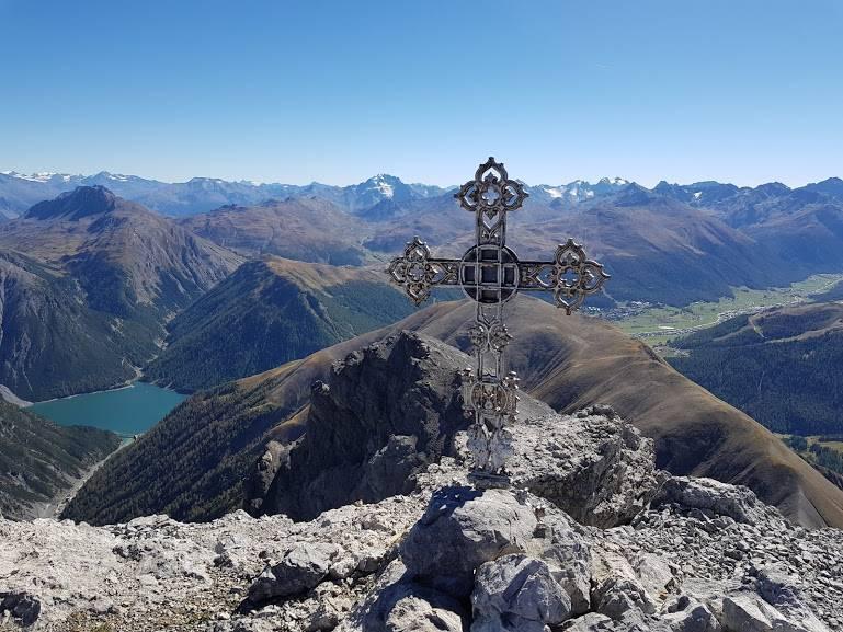 Il panorama spettacolare da cima Cavalli